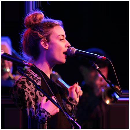 Vocalist Anni Krueger