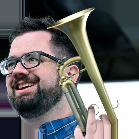 Trumpeter Dylan Canterbury
