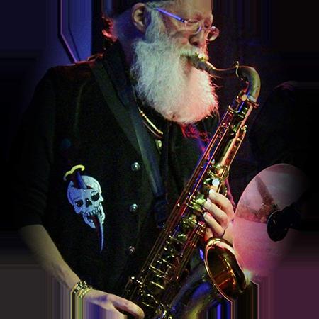 Saxophonist Bill Harris