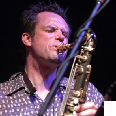 Saxophonist Chris Eminizer