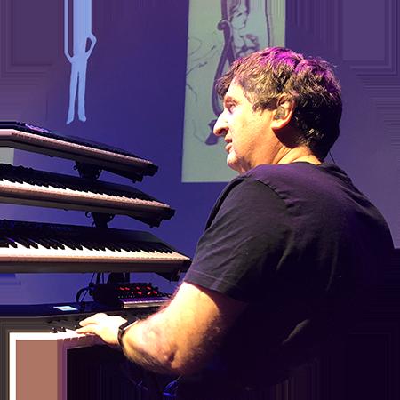 Keyboardist David Jameson