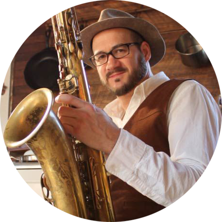 Saxophonist Jay Collins