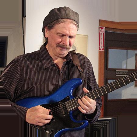Guitarist John Cariddi