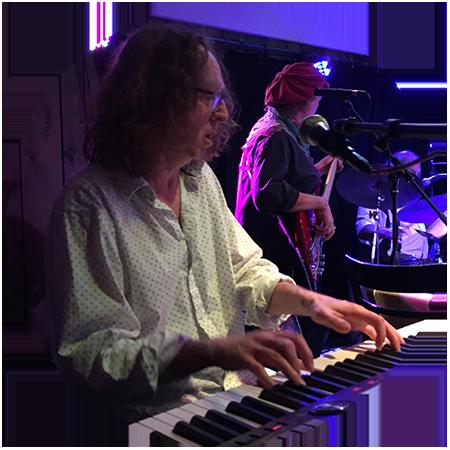 Keyboardist Peter Primamore
