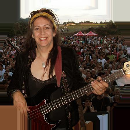 Bassist Jennifer Maidman
